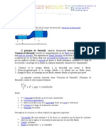 Deduccion de Bernoulli