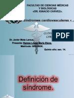 Síndromes cardiovasculares 2.