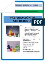 Informe 1 - Preparación de Soluciones