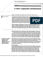 The New Corporate Architecture