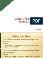 Vektor Dan Bidang Rata