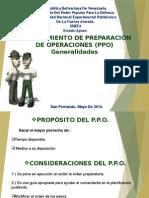 Presentacion - PPO(PROCEDIMIENTOS DE PREPARACION DE OPERACIONES)