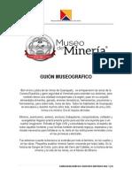 Guión Museográfico Museo Minero