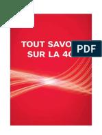 Sfr Tout Savoir Sur La 4g Janvier 2013