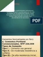 Normas Técnicas Peruanas Para El Cemento Portland