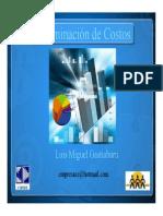Determinacion de Costos Luis Miguel Gastiaburu