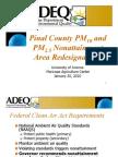 1-20-10 Pinal PM10 PM2 5 Stakeholder Mtg