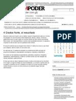 4 Grados Norte, El Resucitado _ Revista Contrapoder