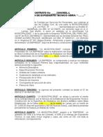 Modelo de Contrato Par Exp. Tecnico. Doc