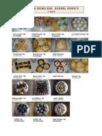 Daftar Menu Wiwi Cake