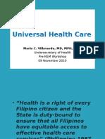 3. Universal Health Care (Usec. Mcv)