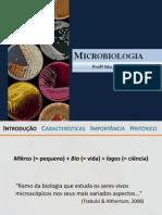 2. Microbiologia - Aula 01 [Introdução à Microbiologia]