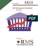 Insurance Risk Management Handbook (Summary)