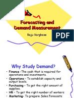 Forecasting and Demand Measurement