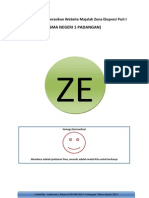Tutorial Mengoperasikan Website Majalah Zona Ekspresi Part I