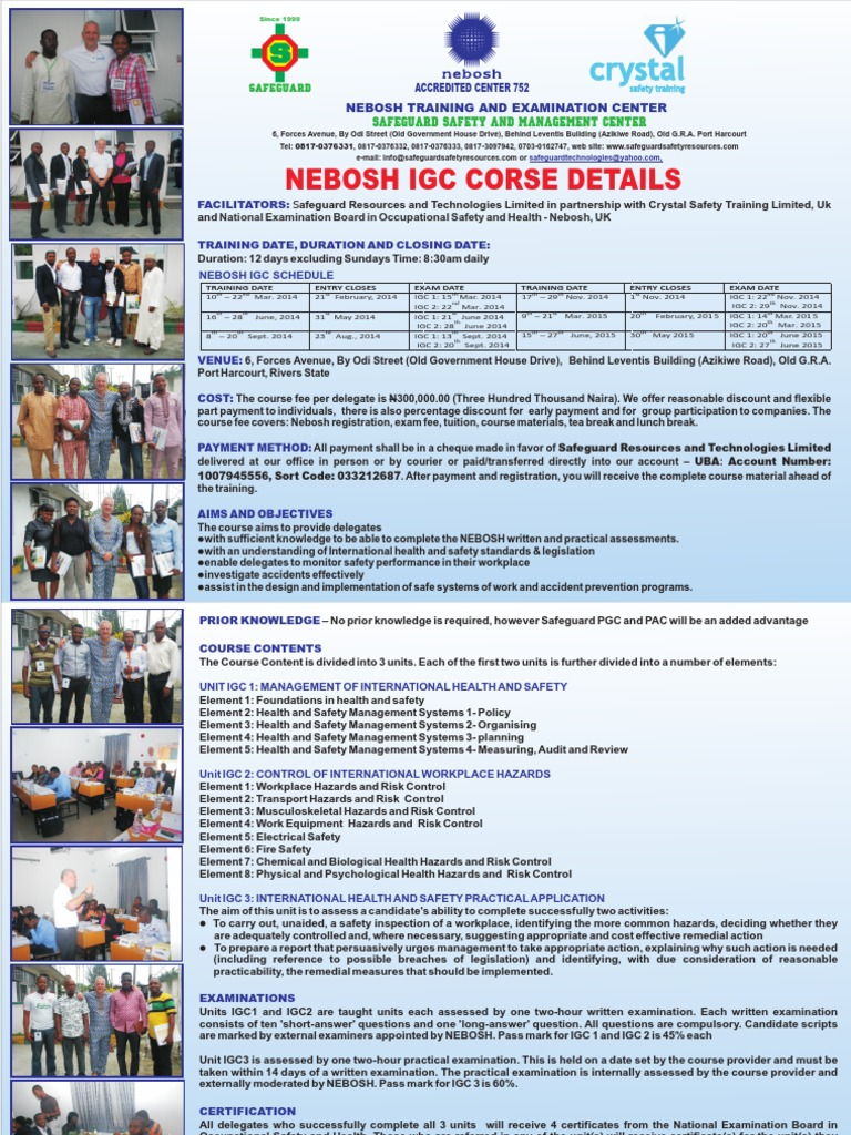 Click here to download nebosh igc course details neboshpdf click here to download nebosh igc course details neboshpdf occupational safety and health prevention fandeluxe Choice Image