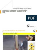 Carga Electrica y Ley de Gauss