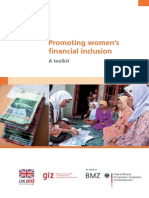 Promoting Women's Financial Inclusion a Tollkit