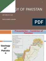 Geol- Of Pak-pre Camb-cambrian. Lect.vi 1-6