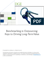 13WP Alsbridge Benchmarking in Outsourcing Agreements