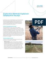 Fact Sheet Geophysical Surveys