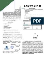 Lacty-CIP II Ficha Técnica