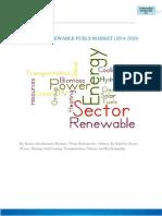 GLOBAL RENEWABLE FUELS MARKET (2014-2020)