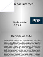 Web Dan Internet PPT