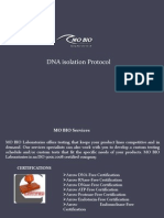 DNA Isolation Protocol