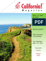 Cycle California Magazine - February 2015 edition