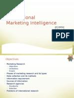 Ch-03 Market Intelligence Pricing Distri Int Mktg IES July2014 Ver1.0