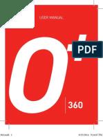 O+ 360 Android Manual