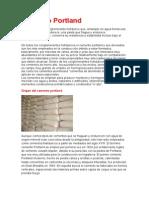 Origen y Obtencion Cemento Portland
