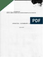 Catagrafii. 1818-1870. Inv. 501