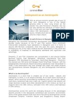 Bangalores Development as an Aerotropolis