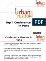 Top 4 Conference Venues in Pune