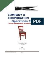company x corporation