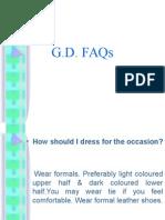 GD FAQs