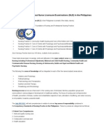 General Information about Nurse Licensure Examinations.docx