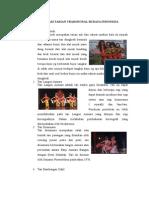 10 Macam Tarian Tradisional Budaya Indonesia