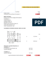 Skid Lifitng Lug Calculations