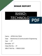 01 (1)Report on Nano Technology