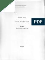 Microfilme SUA. Rolele 90-92. Inv. 998