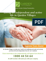 Living an independent and active life in Garden Villages