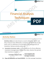 Unit 28_Financial Analysis Techniques_2013