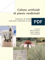 Colture Artificiali Di Pianti Medicinali