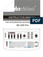 Datavideo Se 200 Manual