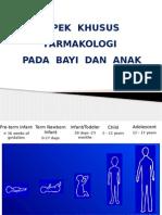 Aspek Khusus Farmakologi Pediatri