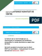 Chapitre 5 - TC1S1 Oper Acha Et Vent