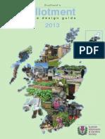 Scotland Allotment Design Guide